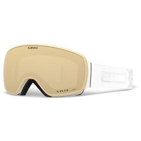 Giro Eave Gafas Mujer, white velvet/vivid copper/vivid infrared